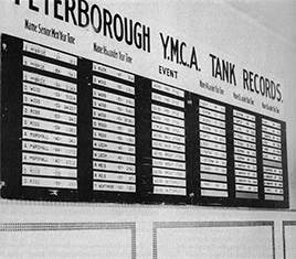 Perteborough YMCA Tank Records
